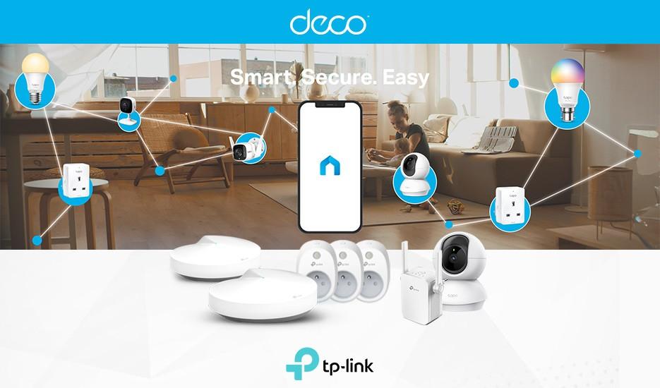 Créez facilement votre maison connectée Tapo -Contrôlez votre maison connectée à partir d'une seule application Tapo